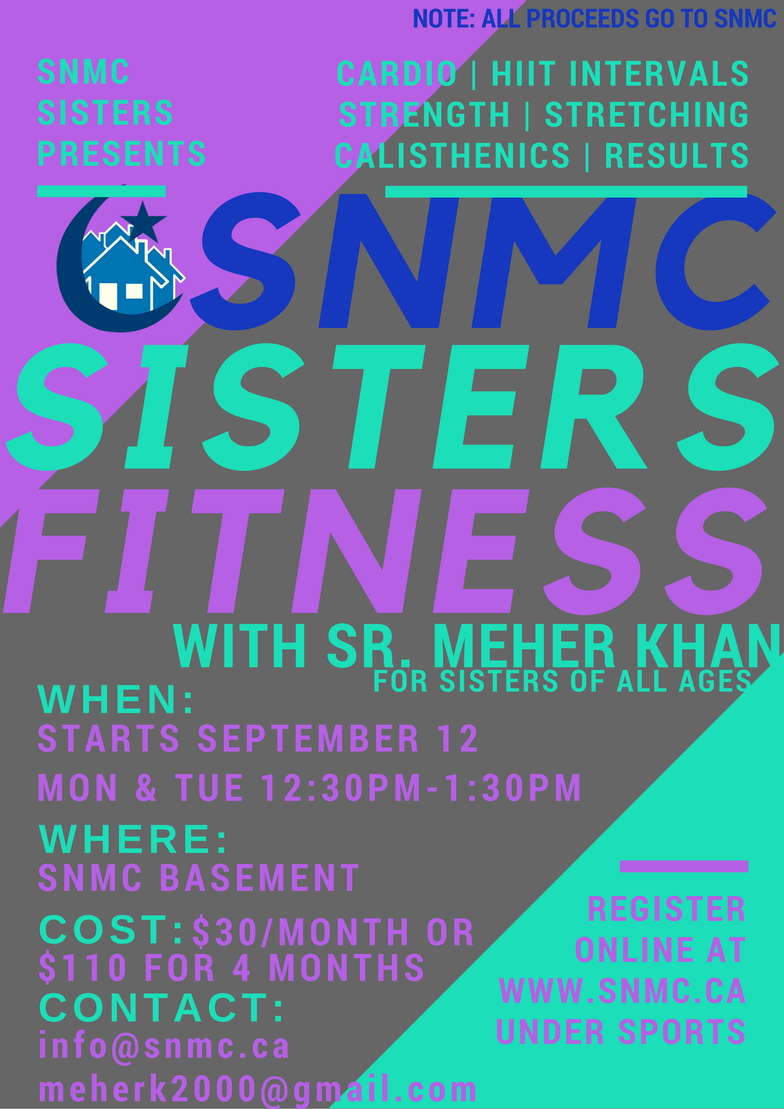 SNMC sisters fitness